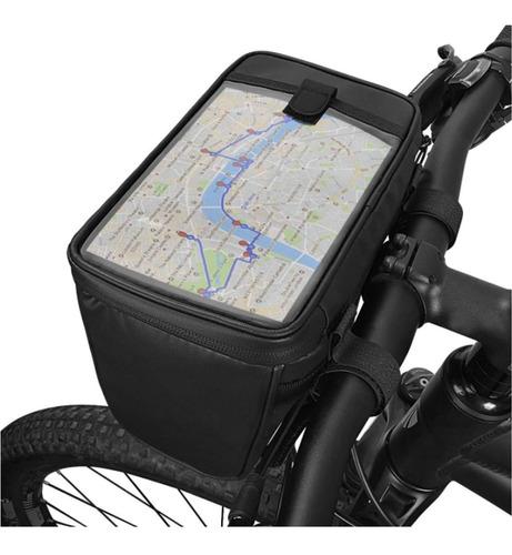 bolsa de guidão 2lt 20x16x12 pvc bike bicicleta mtb