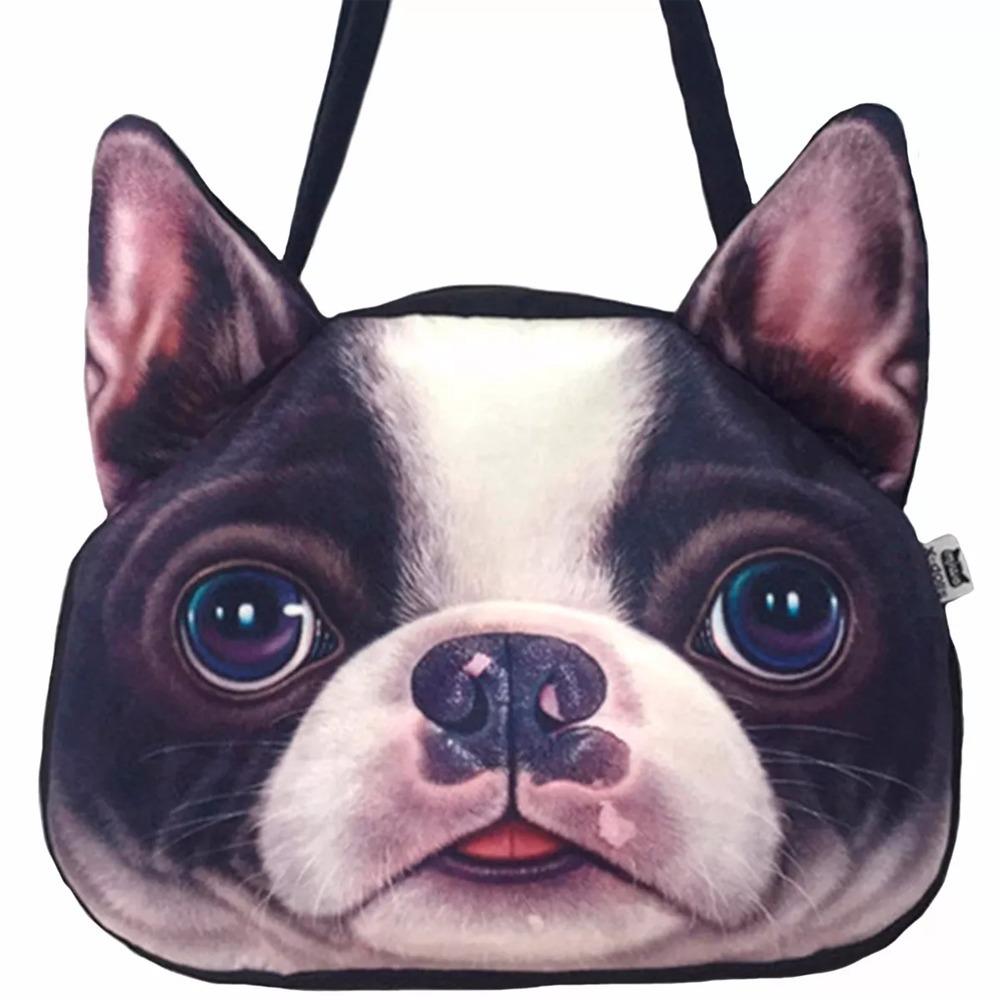 Hombro De Bolsa M2214 Perro Frances Bulldog En Forma mOw8n0vN