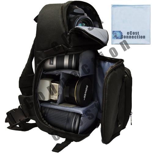 bolsa de hombro / video honda de la cámara del estilo de luj