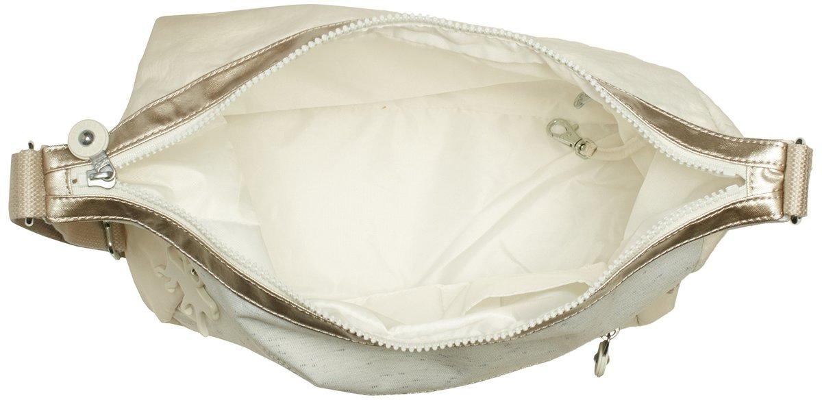 708c1d2b7 Bolsa De Lado Mujer Kipling Alenya Blanco Marfil - S/ 311,00 en ...