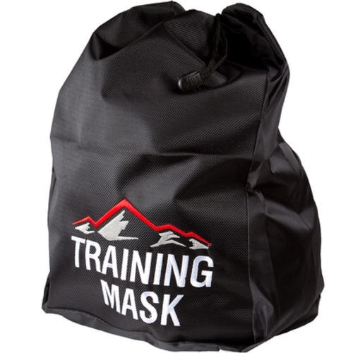 bolsa de lona para transportar la máscara training mask