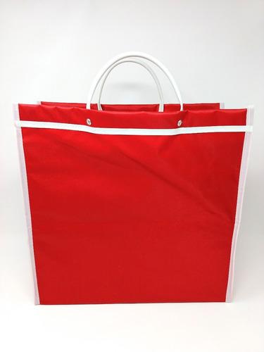 bolsa de mandado publicitaria medidas 36x36x12 cms
