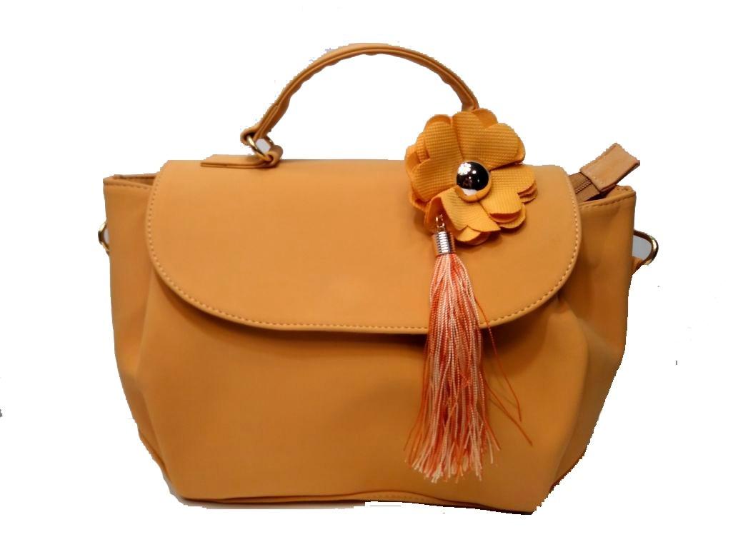 bien fuera x profesional mejor calificado diseño popular Bolsa De Mano Color Mostaza.