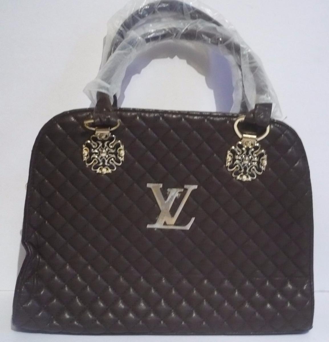 7b3d19b83 ... para dama - elegante bolsa d moda logotipo l v. Cargando zoom.