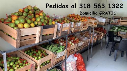 bolsa de mercado con frutas & verduras