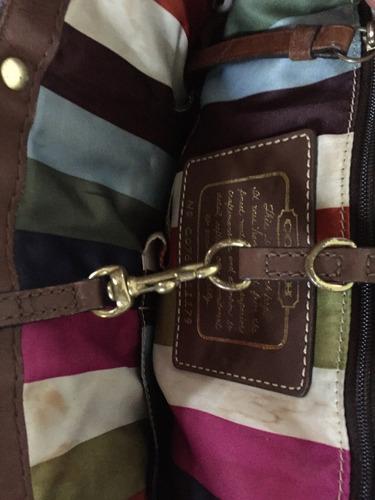 bolsa de mezclilla coach original