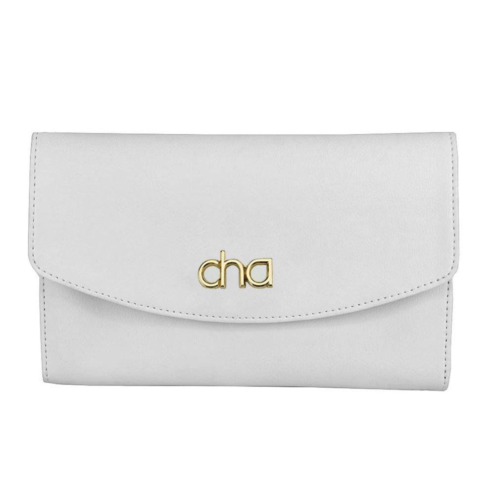 2af08e840b Bolsa De Mão Carteira Branca Feminina Clutch Pequena 1533 - R  68