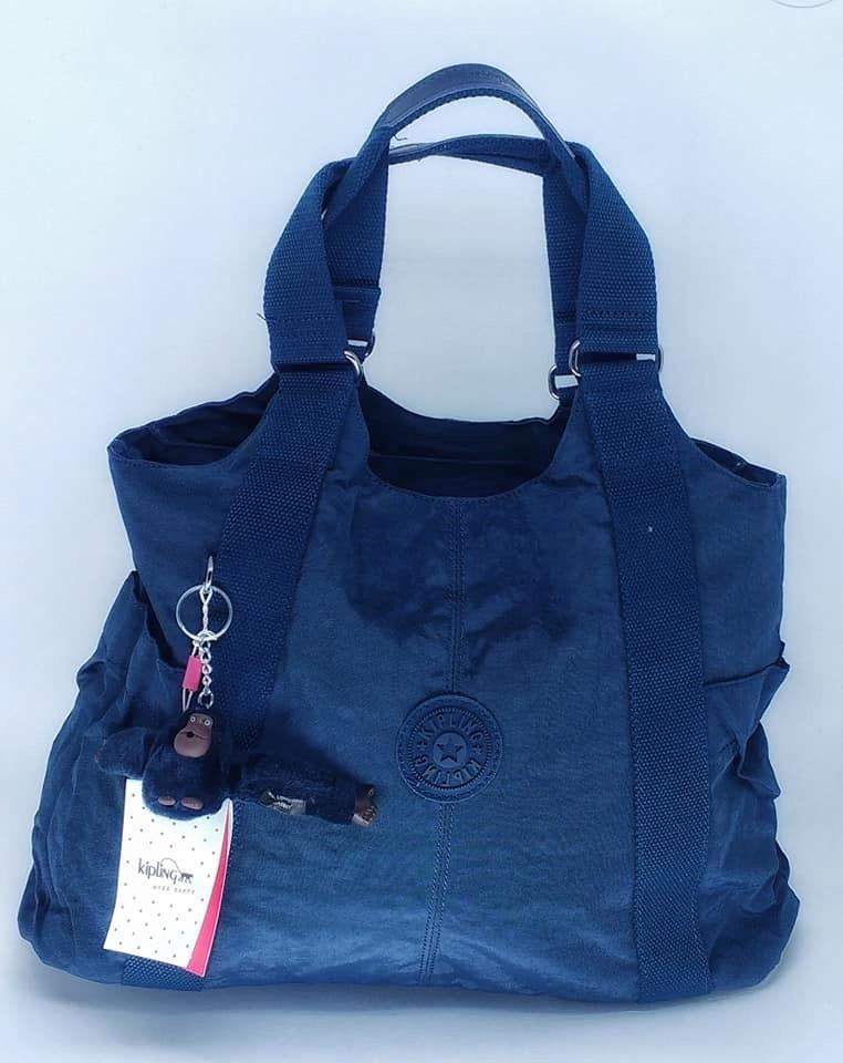 bbf443cab bolsa de ombro 3 divisorias azul marinho - kipling cicely. Carregando zoom.