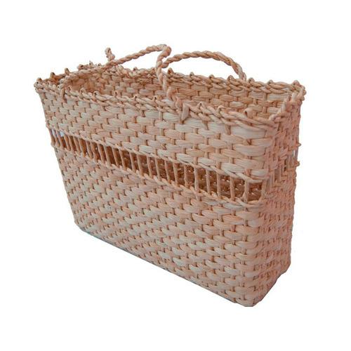 bolsa de palha praia ou feira n3 40x12x29 kit 4 peças