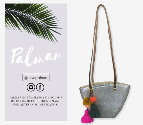 bolsa de palma / capazo