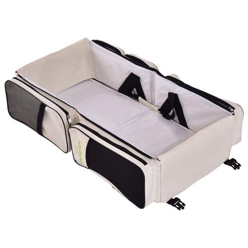 bolsa de pañales para bebe 3 en 1 goplus moises de viaje