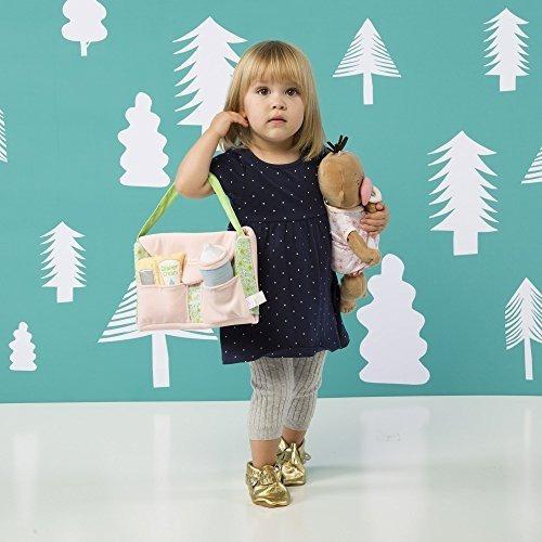 bolsa de pañales y accesorios para muñecas baby doll stella