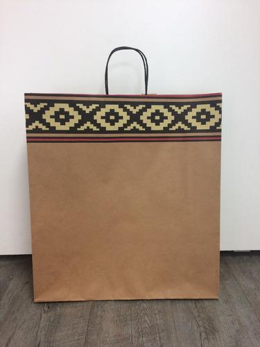 bolsa de papel de regalo pampa 45x15x48 cm