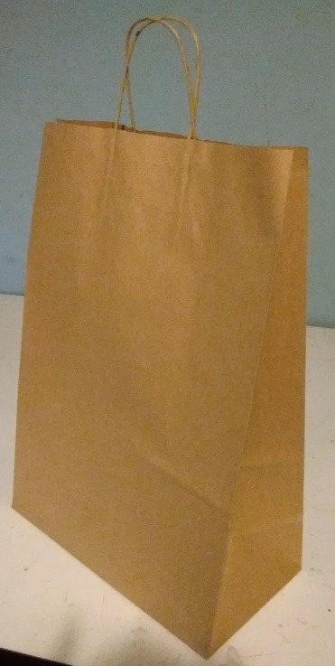f22f9879a Bolsa De Papel Madera Con Manija 30x22x10 X 78 - $ 550,00 en Mercado ...