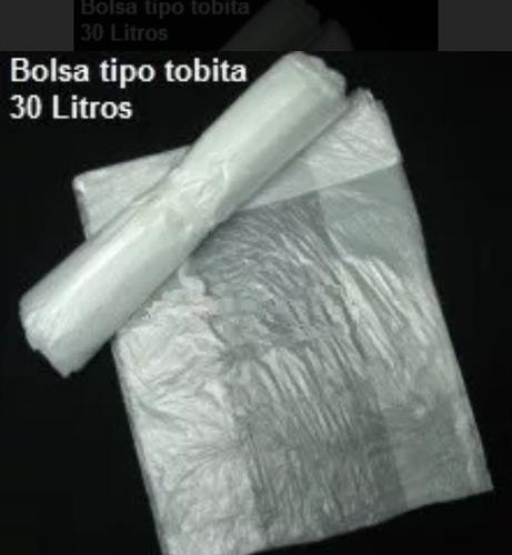 bolsa de papelera de 30litros tipo tobita