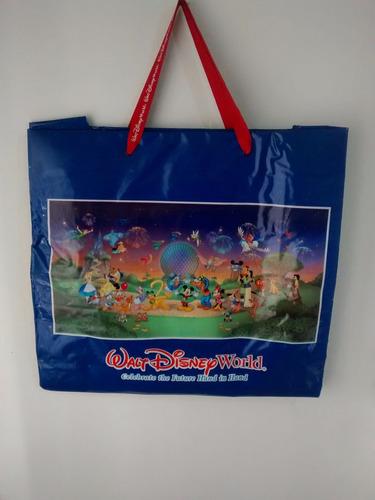 bolsa de plástico walt disney word