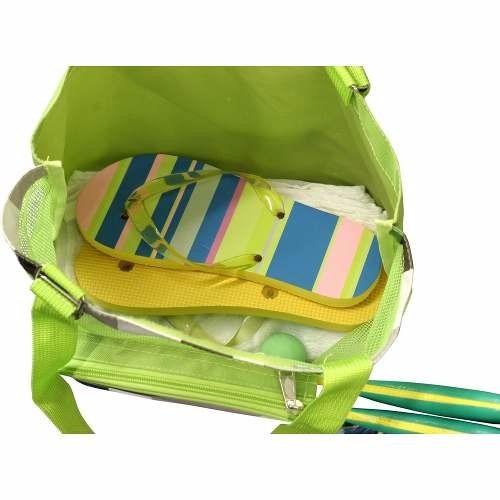 bolsa de praia com cooler térmico playa - nautika
