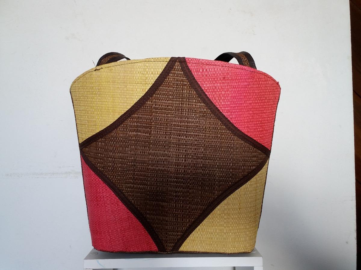 bolsa de praia palha de buriti artesanal. Carregando zoom. 28c51c73ed7