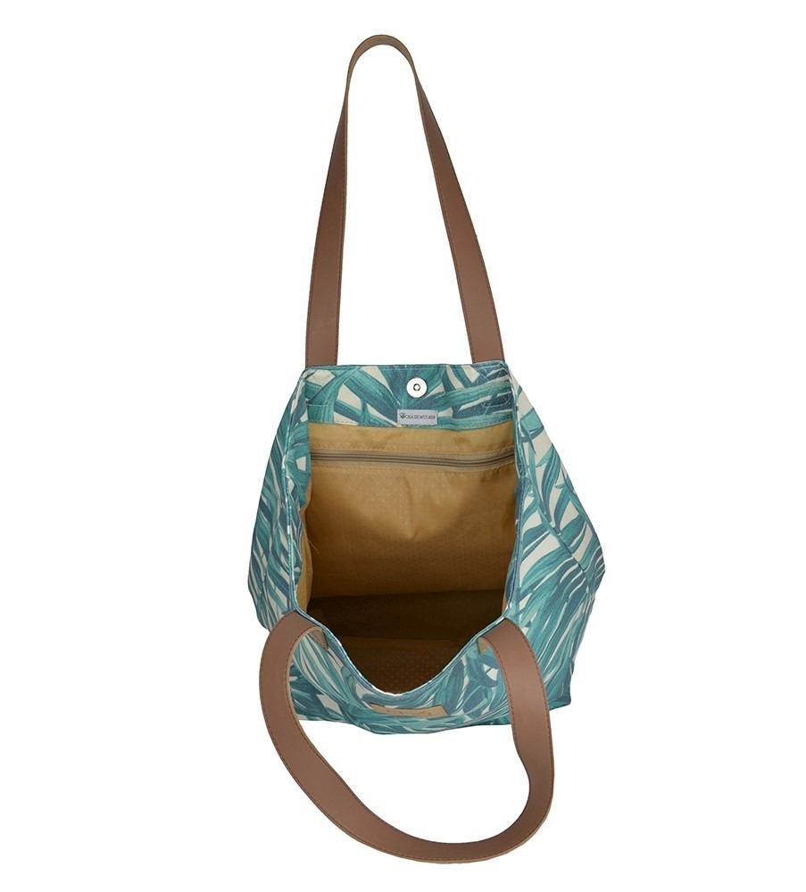 f29493de5 bolsa de praia verde sacola estampa palmeira grande 1401. Carregando zoom.