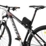 bolsa de quadro preta porta objetos bike bicicleta próbike