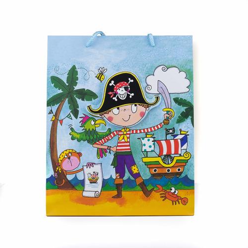 bolsa de regalo de niño 30x26x10 cmcod. n-4 (decena)