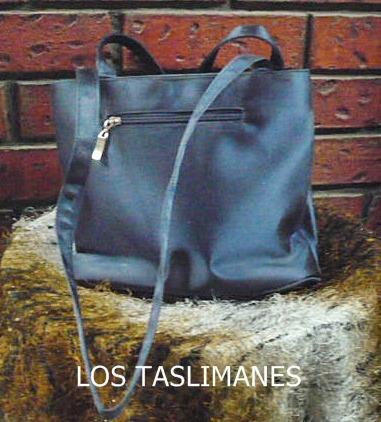 bolsa de seda azul