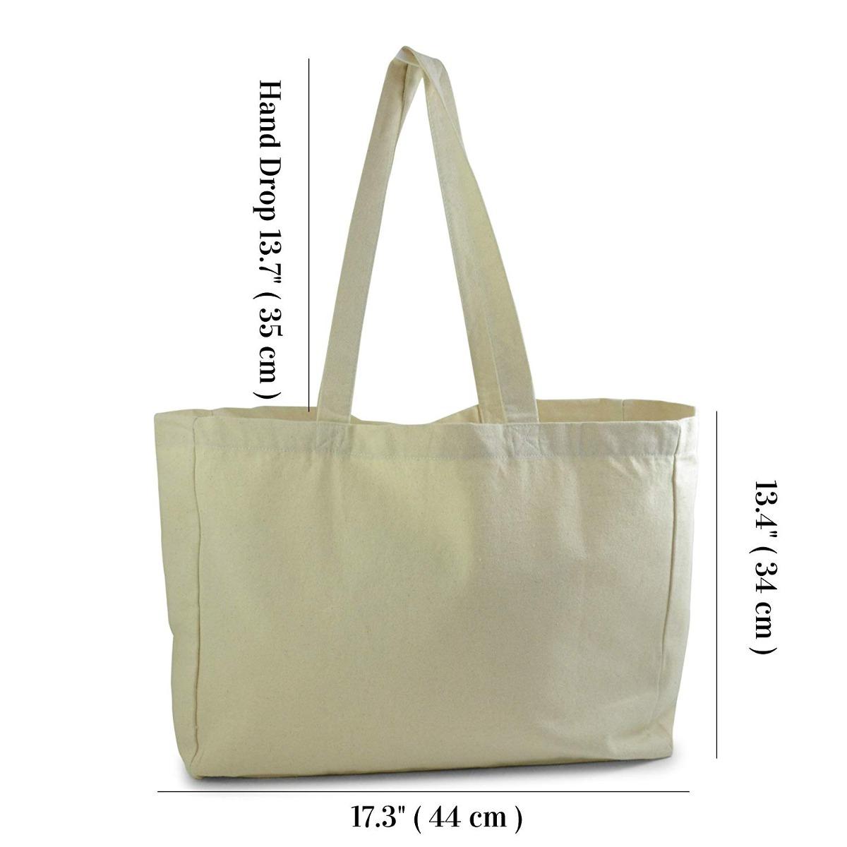 b2f03a098 bolsa de tela de algodón de color natural, ideal para la pl. Cargando zoom.