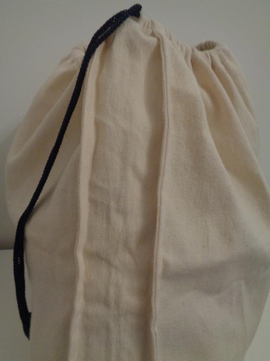 b7c734332 Bolsa De Tela Gabardina Con Cordon 40 X 45 X 7 Cms - $ 310,00 en ...
