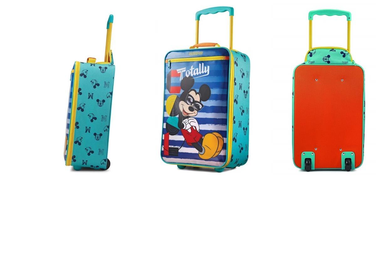 f7b690e23 Bolsa De Tela Maleta De Mickey Mouse M7 Envio Gratis - $ 1,270.00 en ...