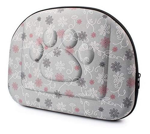 bolsa de transporte de mascotas  hombro gris transportadora