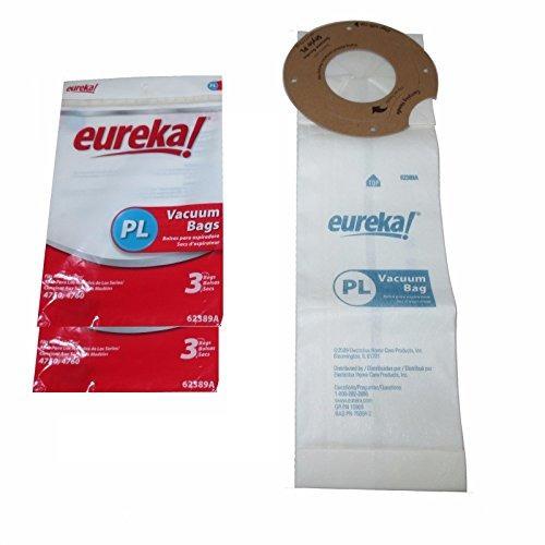 bolsa de vacío eureka pl 62389a - paquete de 6