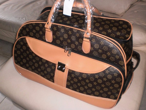 bolsa de viagem feminina com rodinha