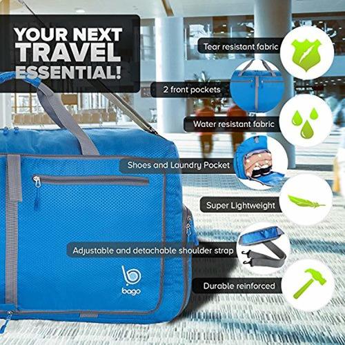 bolsa de viaje bolsa de lona plegable grande