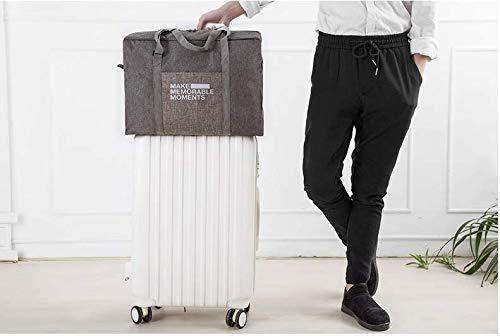 bolsa de viaje para hombre y mujer plegable bolsa de equipaj