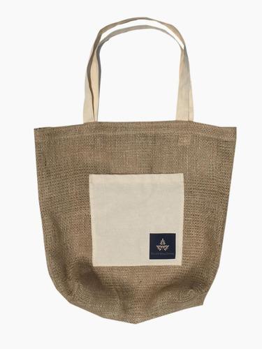 bolsa de yute, bolso de compra, ecologico, tocuyo