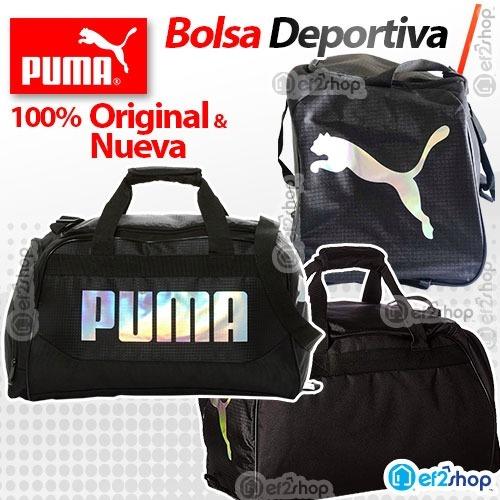 Bolsa Deportiva Puma Original Maleta Gym Unisex Sport Morral ... 9dcb5c5bdda5d