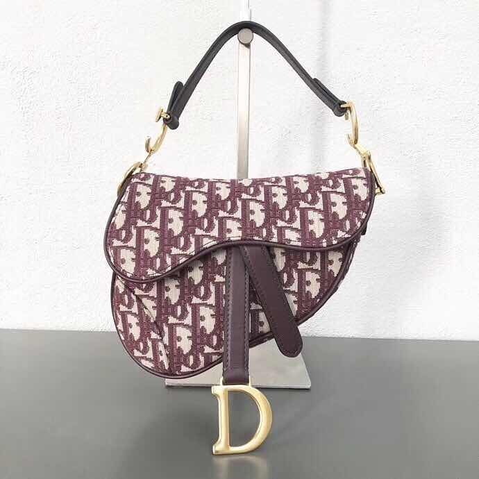 8b9450dfc35 Bolsa Dior Mini Saddle Bag -   6