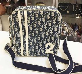 9481f97fe Bolsa Dior Usada - Bolsa Dior Femininas Azul, Usado no Mercado Livre ...