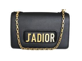 ecc2d69818 Bolsa Miss Dior - Bolsas de Couro Preto no Mercado Livre Brasil