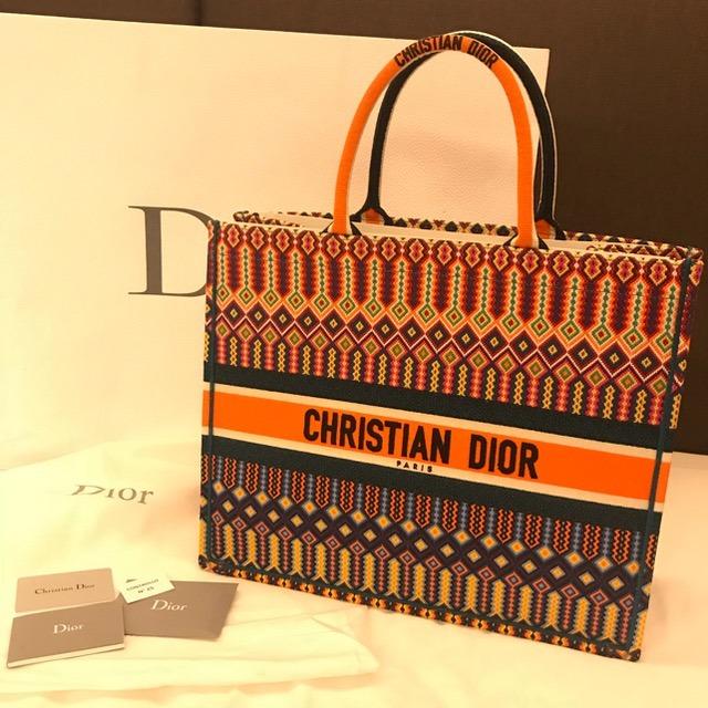 0f41de7d069 Bolsa Dior Tote Runway Ss18 100% Trama Original - R  2.900