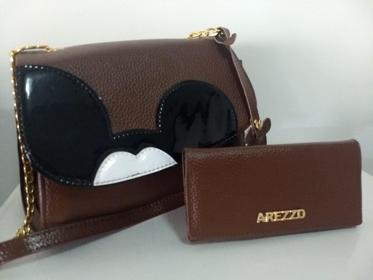 0843d9118c bolsa disney arezzo + carteira. Carregando zoom.