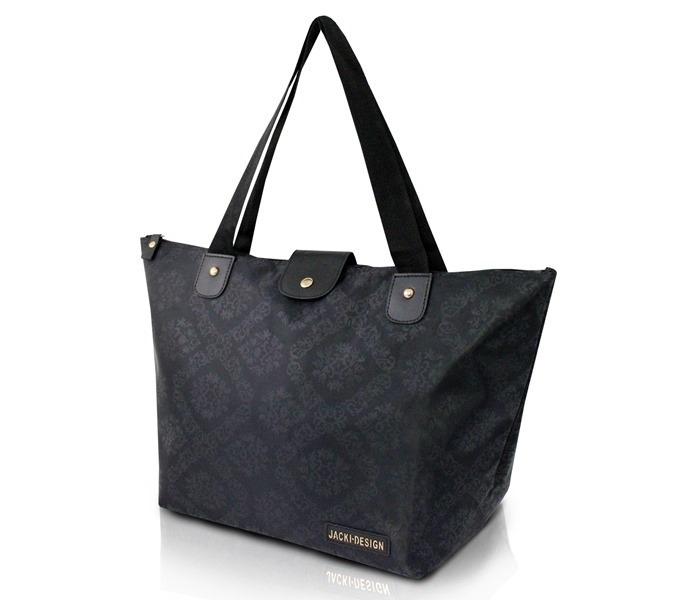 3eb5076b2 Bolsa Dobrável Tam. G Damasco Jacki Design - R$ 59,90 em Mercado Livre