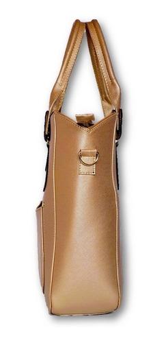 bolsa dorada para mujer
