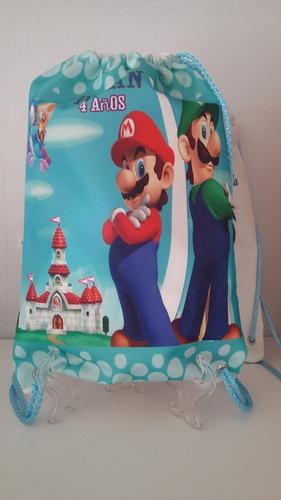 bolsa dulcero con cierre impresión de tu personaje favorito