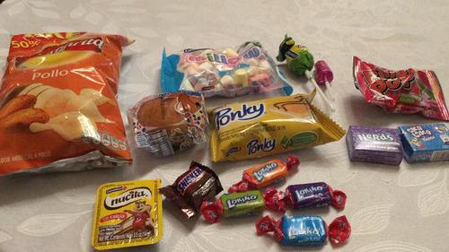 bolsa dulces de halloween y sorpresa