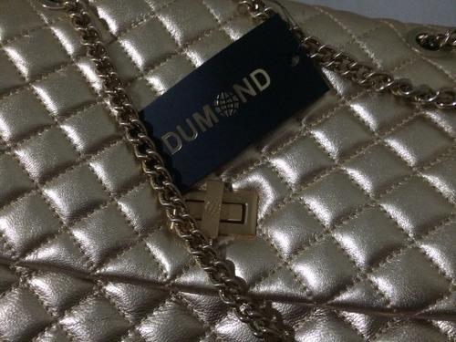 bolsa dumond dourada