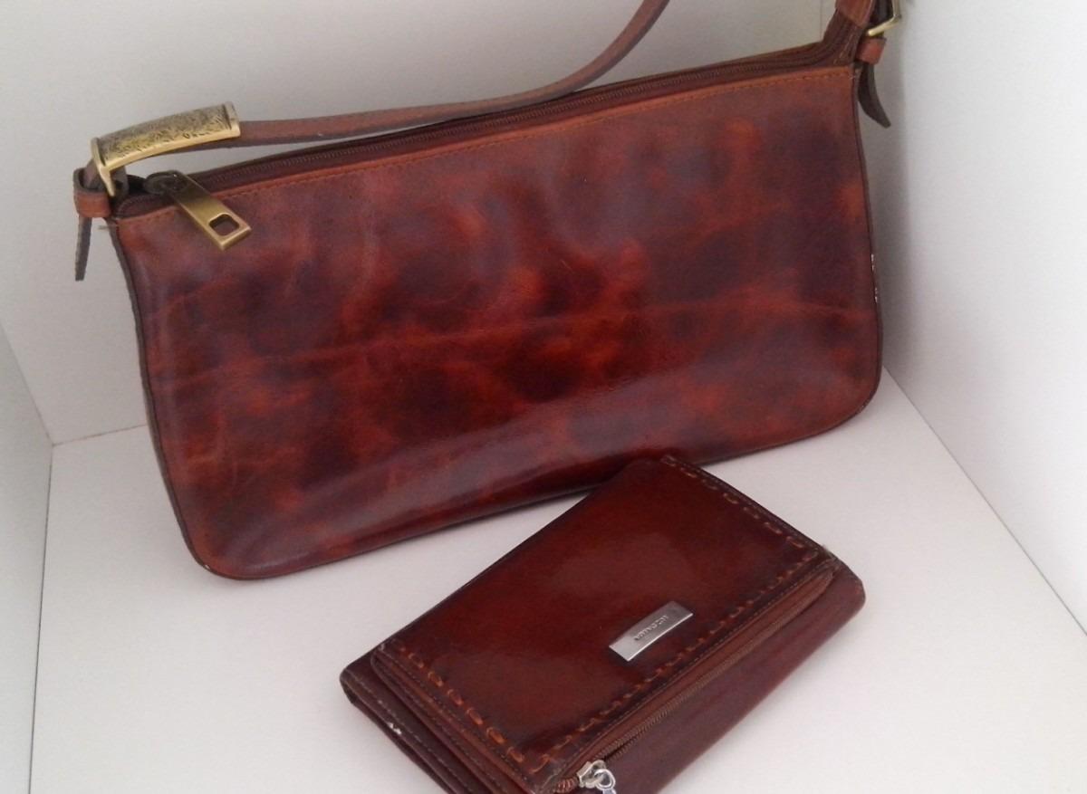 Bolsa E Carteira : Bolsa e carteira de couro luz da lua r em