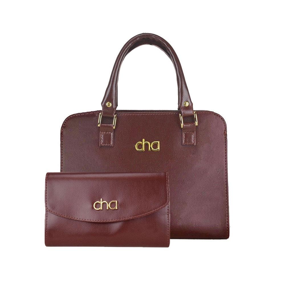 15cd9a7f7 bolsa e carteira marrom feminina satchel couro sintetico. Carregando zoom.