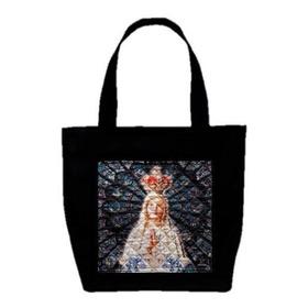 Bolsa Ecobag Nossa Senhora De Fátima Com Costura Matelassê