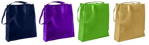 bolsa ecológica en tela tnt 36 x 40 x 10 cm